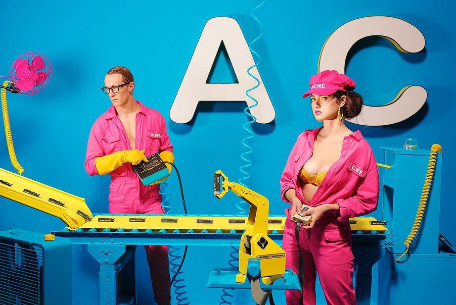Absolutely loved shooting this campaign for ACME @...